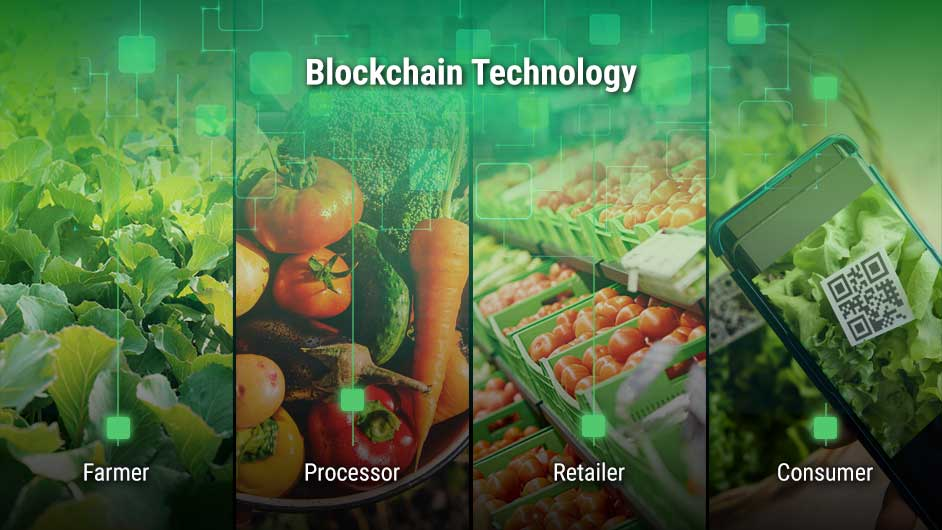 Blockchain technology for the food industry