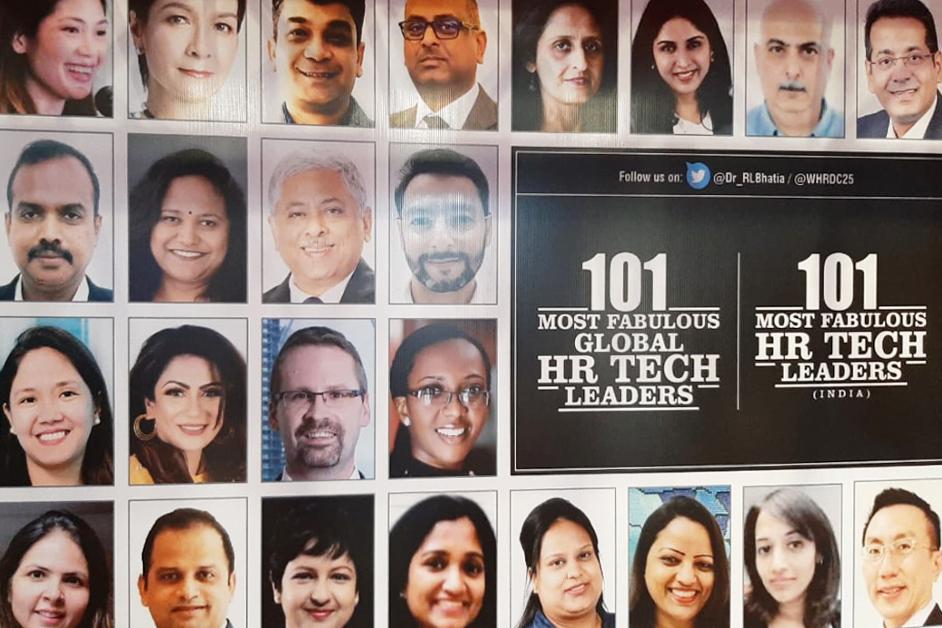 101 Most Fabulous HR Tech Leaders by WORLD HRD Congress