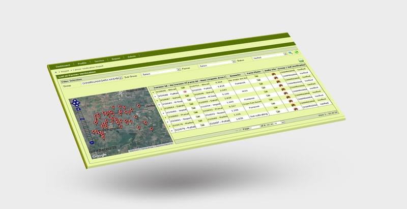 DATAGREEN (DG) Agri Solution modules - Sourcetrace