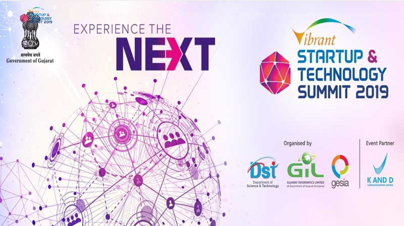 Vibrant Startup & Technology Summit 2019, organised by Government of Gujarat and GESIA
