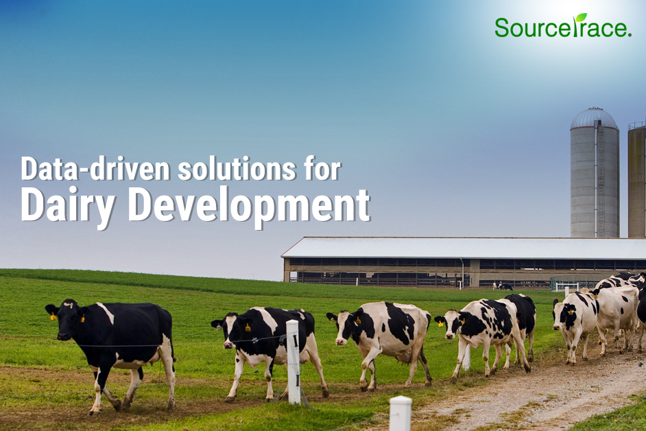 Data driven solution for dairy development