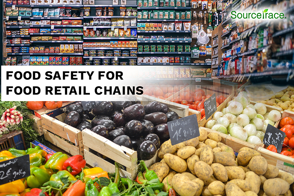 Food safety for food retail chains - Sourcetrace