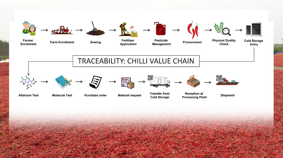 Authenticity Markers for Paprika Chilli : How do we know where our spice comes from and its potency?