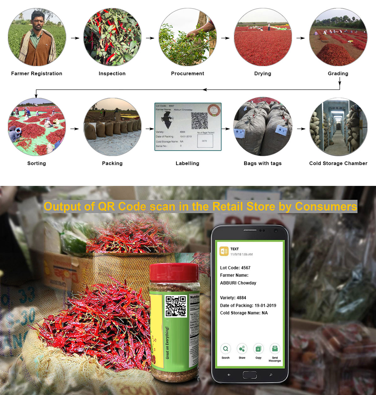 Spice Traceability - A Complex Food Chain